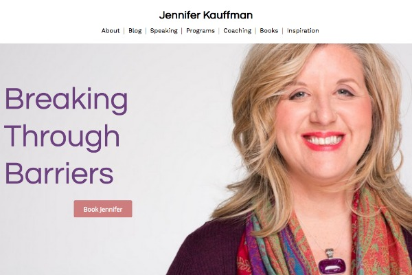 Jennifer Kauffman website