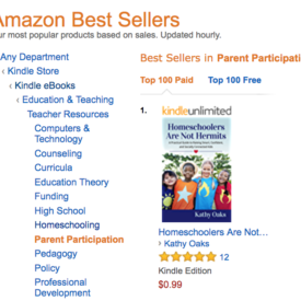 Homeschoolers not hermits #1 Amazon